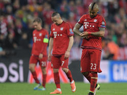 Die Bayern verlassen nach einem großen Kampf den Platz