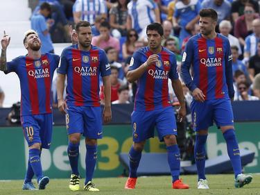 Der FC Barcelona gewann mit 5:1 gegen CD Leganés