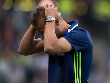 Markus Weinzierl und dem FC Schalke droht der schlechteste Saisonstart aller Zeiten