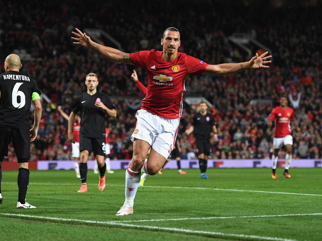 Zlatan Ibrahimović erzielte das Goldene Tor für ManUnited