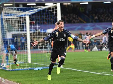 Sergio Ramos lideró al Real Madrid en San Paolo. (Foto: Getty)