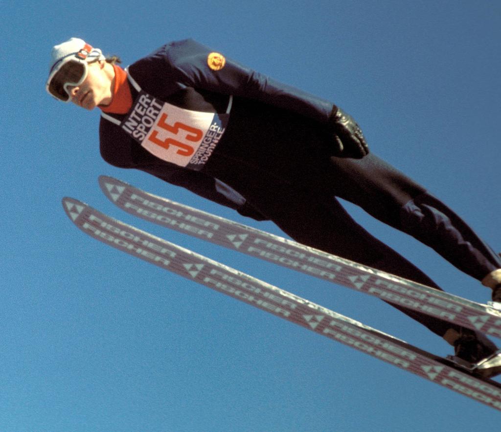 Platz 7: Hans-Georg Aschenbach (Skispringen)