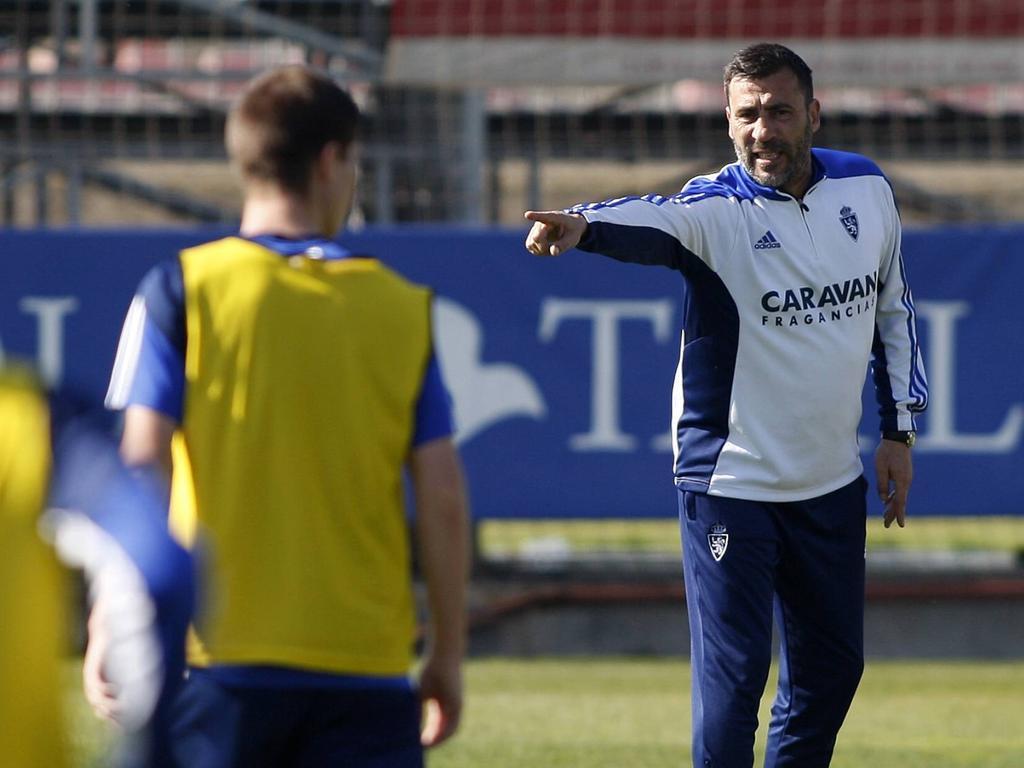 Agné ya no es entrenador del Real Zaragoza. (Foto: Imago)