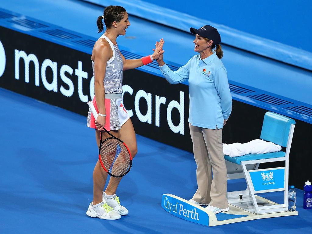 Platz 97 (▼1): Andrea Petkovic - 635 Punkte