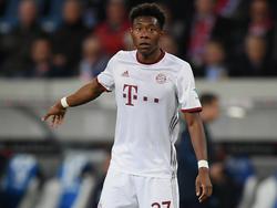 Freut sich auf den Kracher gegen Dortmund: David Alaba