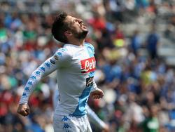 Dries Mertens erzielte gegen Sassuolo sein 22. Saisontor und ärgerte sich trotzdem