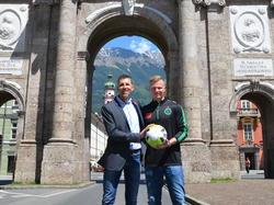 Christopher Knett wird in Zukunft Keeper der Innsbrucker sein