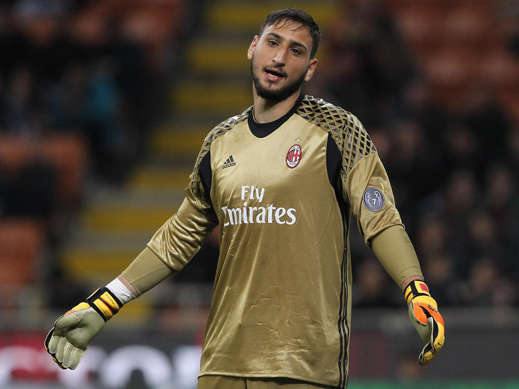 Torwart-Talent Gianluigi Donnarumma will Milan verlassen
