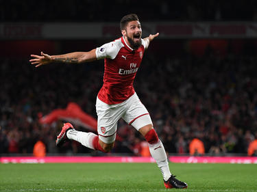 Olivier Giroud erzielte sein 100. Tor für den FC Arsenal