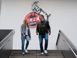 Anna und Yannick Gerhardt spielen beide beim 1. FC Köln