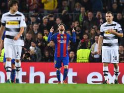 Lionel Messi hat sein 473. Tor für den FC Barcelona erzielt