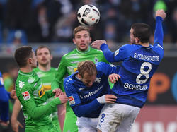 Der SV Darmstadt und Borussia Mönchengladbach trennten sich 0:0