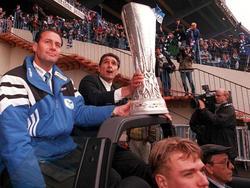 Schalke 04 gewann im Jahr 1997 den UEFA Cup
