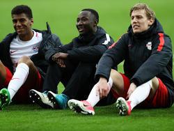 Naby Keïta (M.) steht beim FC Liverpool auf dem Zettel