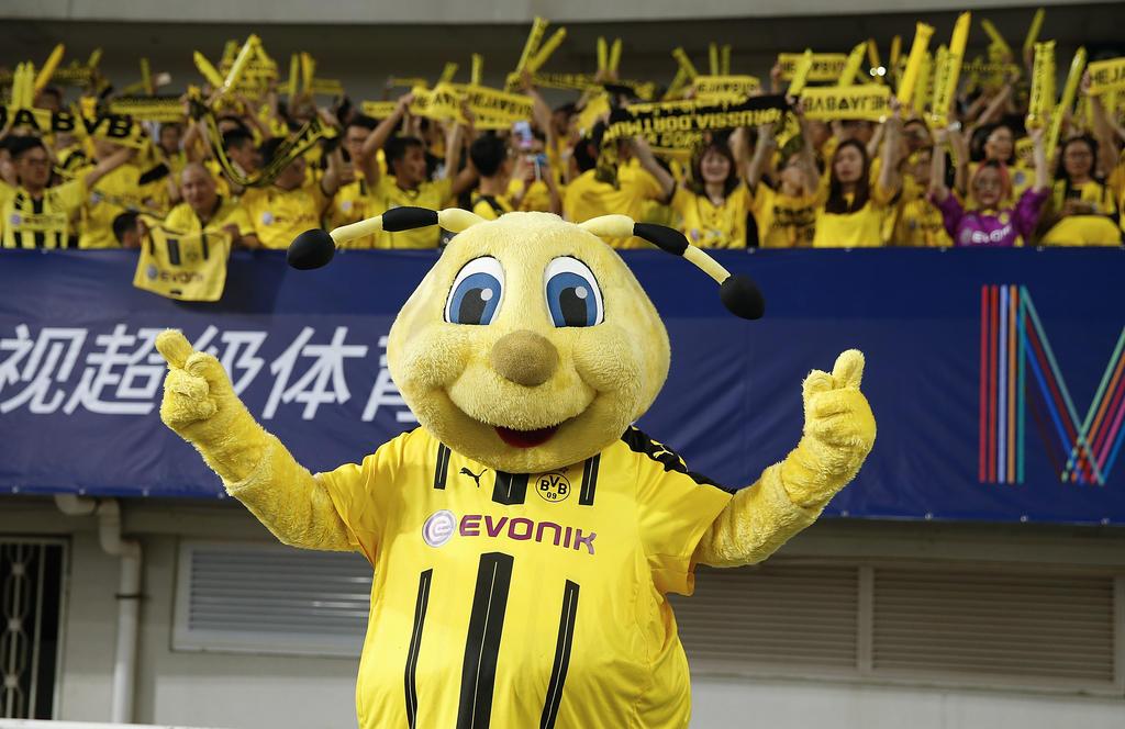 Schwarz-gelbe Party in Asien
