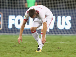 Bayern Münchens Franck Ribéry muss vermutlich drei bis vier Tage pausieren