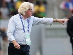 Jamaikas Trainer Winfried Schäfer wurde für zwei Spiele in der WM-Qualifikation gesperrt