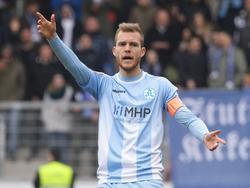 Fabian Baumgärtel spielt in der nächsten Saison in Halle