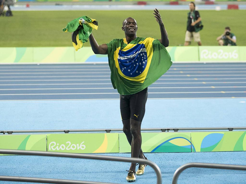 Usain Bolt ist endgültig im Sport-Olymp angekommen