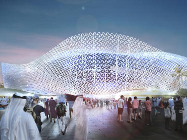 Eine türkische Firma hat den Zuschlag für den Bau eines WM-Stadions erhalten