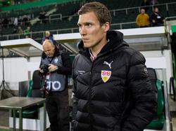Hannes Wolf will mit dem VfB Stuttgart auch gegen Hannover 96 bestehen