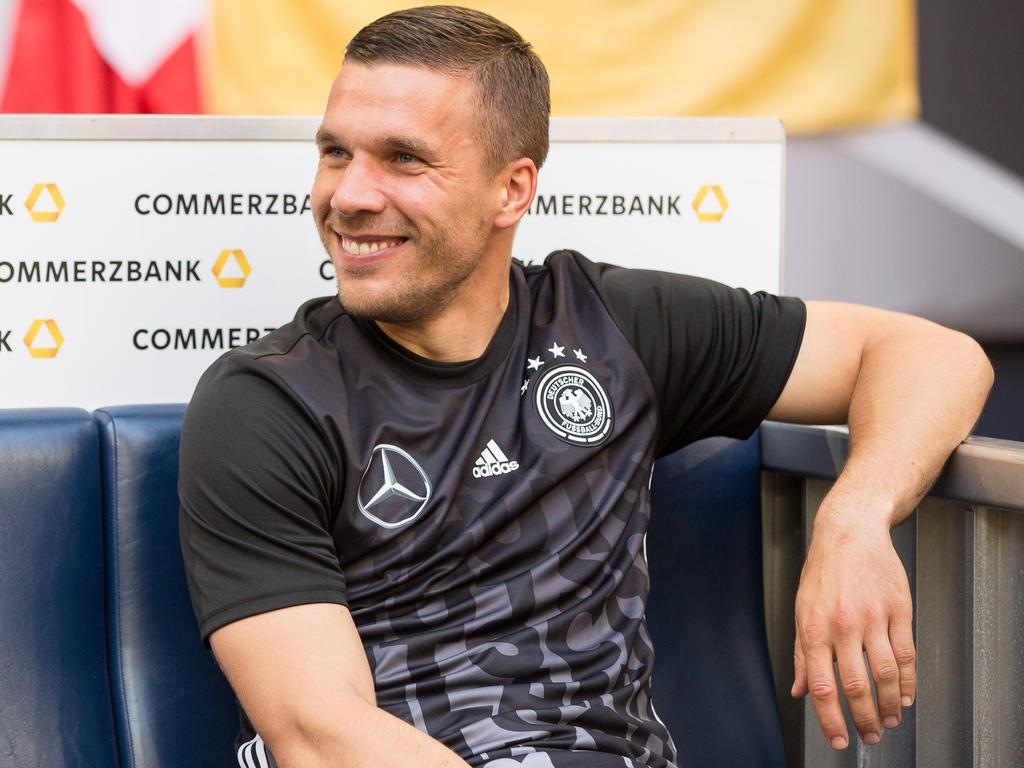 Lukas Podolski hat sich zu seiner Zeit bei der DFB-Elf geäußert