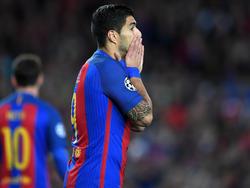 Luis Suárez muss wegen einer Muskelzerrung pausieren