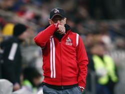 FC-Coach Peter Stöger hofft, dass die Fan-Klage abgewiesen wird
