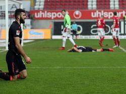 Der 1. FC Nürnberg spielt in Kaiserslautern nur remis