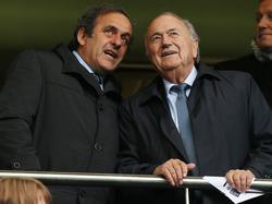 Blatter y Platini, amigos íntimos. (Foto: Getty)