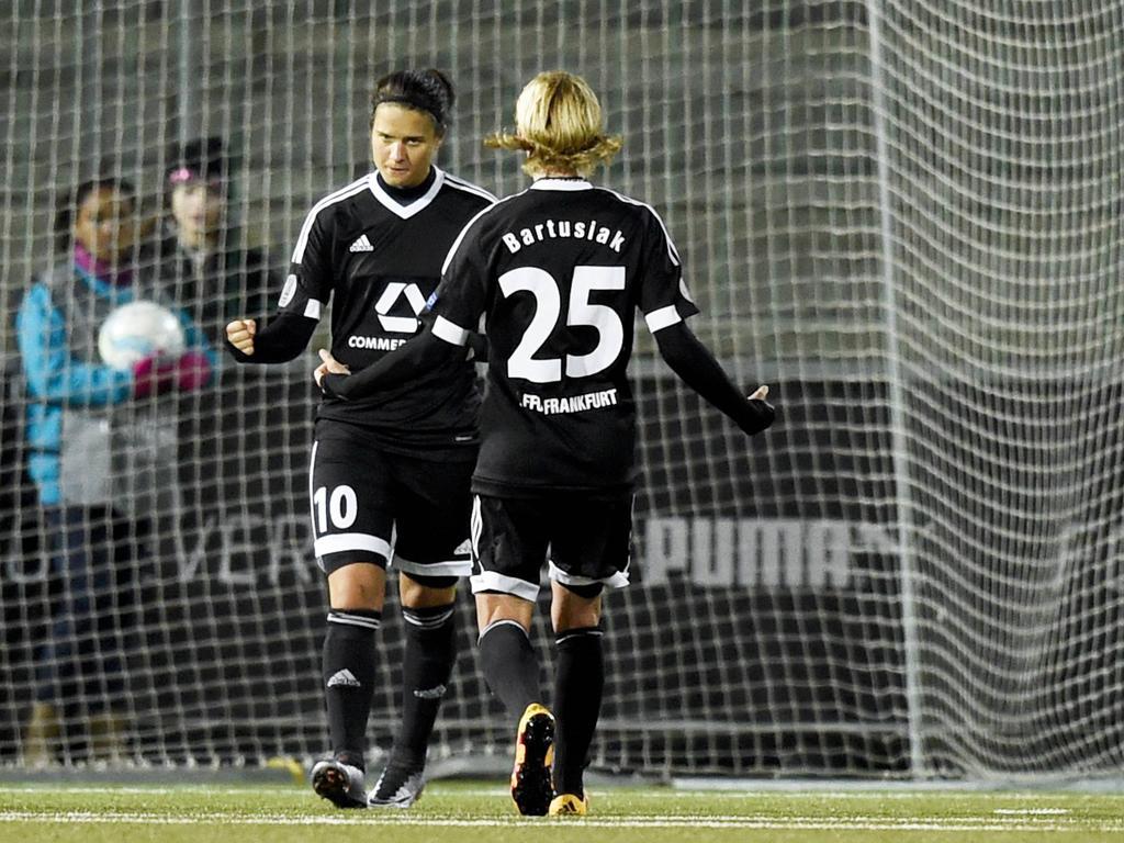 Saskia Bartusiak sorgte für die Bayern-Niederlage