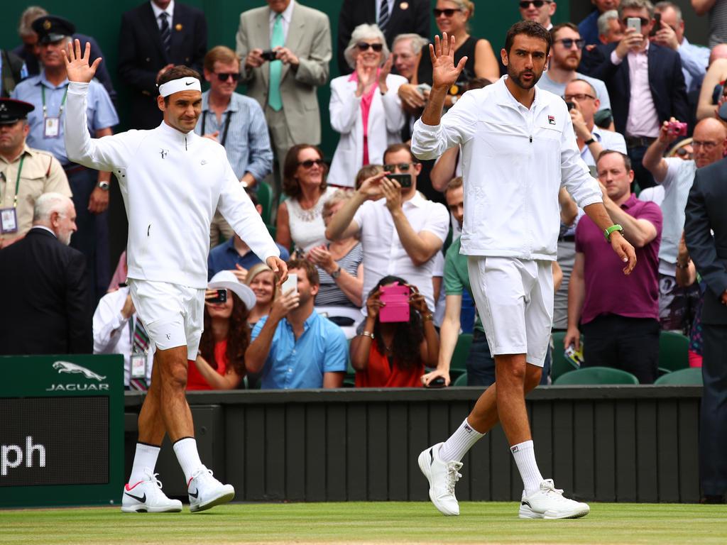 Einmarsch der (Tennis-)Gladiatoren
