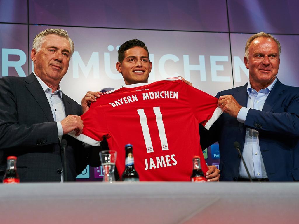 Fix! Bayern leiht James von Real