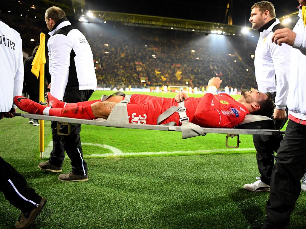 Roman Bürki musste in der Champions League ausgewechselt werden