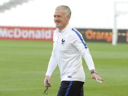 Didier Deschamps äußerte sich vor dem Spiel gegen Irland fokussiert