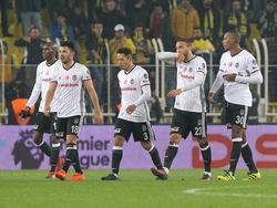Beşiktaş hat im Titelkampf einen herben Dämpfer kassiert
