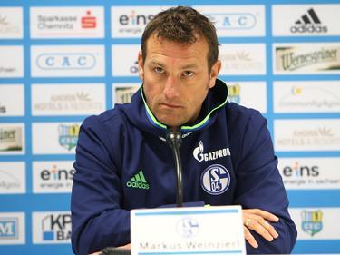 Schalke-Coach Markus Weinzierl wird von Verletzungssorgen geplagt