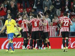 Athletic Bilbao hat UD Las Palmas klar besiegt