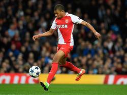 Kylian Mbappé sorgte in der vergangenen Saison mit Monaco für Furore