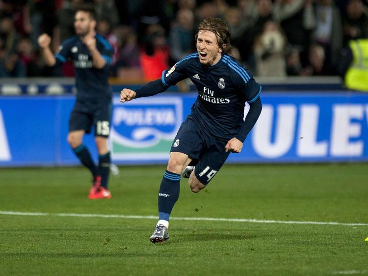 Luka Modric sorgt für späte Erleichterung bei Real Madrid