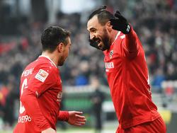 Hannover feiert trotz Abstiegskampf Jubiläum