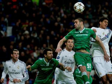 El Ludogorets recibió cuatro tantos en el Bernabéu en la Liga de Campeones. (Foto: Getty)