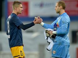 Ilsanker und Gulacsi sollen beim Aufstieg in die Bundesliga mithelfen