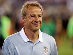 Jürgen Klinsmann freute sich über den Sieg seiner US-Boys