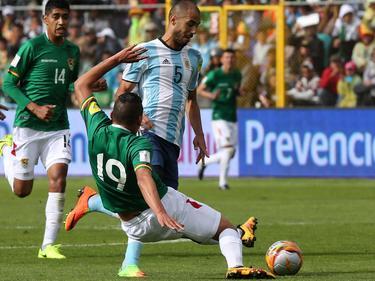 Pizarro es el único argentino de la Albiceleste que juega en su país natal. (Foto: Getty)