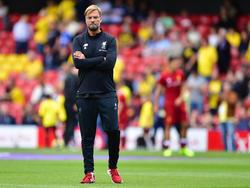 Jürgen Klopp startet mit Liverpool schwach in die Saison