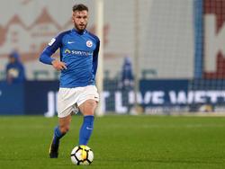 Hansa Rostock schob sich in der Tabelle der 3. Liga nach vorne