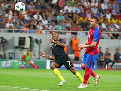 Steaua hatte in allen Belangen das Nachsehen