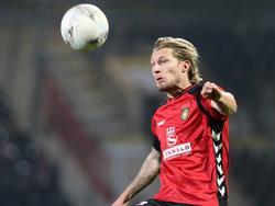 Kai Gehring erzielte beide Treffer für Großaspach