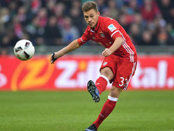 Joshua Kimmich soll beim FC Bayern die Nachfolge von Lahm antreten